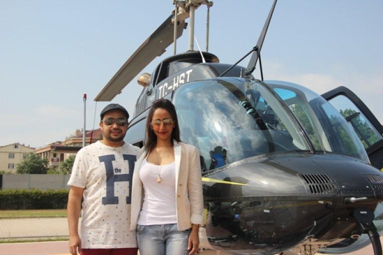 Helikopter Evlilik3