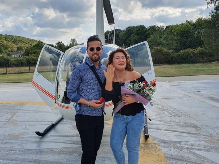 Helikopter Evlilik 4